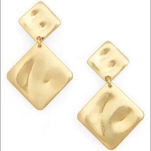 Madewell Hammered Drop Earrings